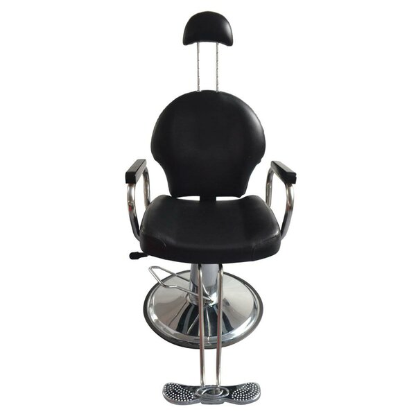 Hydraulic Haircutting Reclining Massage Chair By Symple Stuff