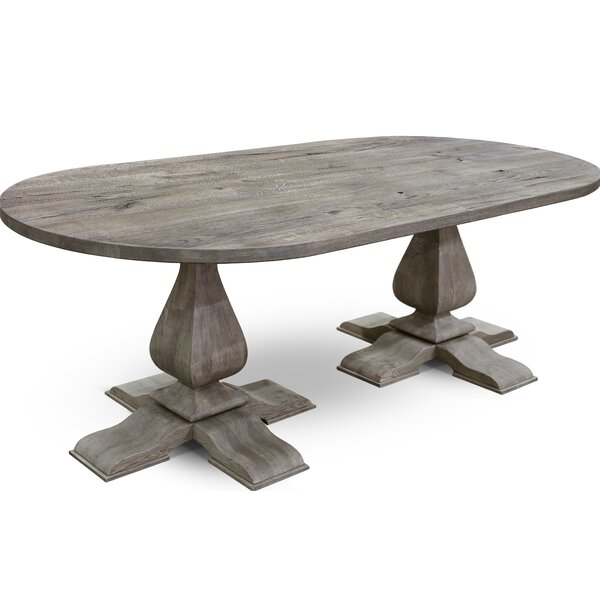 Shmuel Solid Wood Dining Table by Gracie Oaks