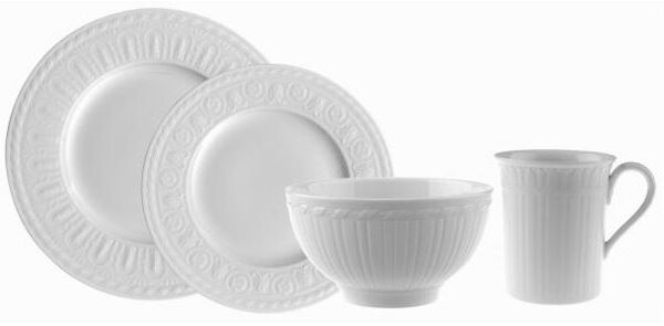 Cellini 24 Piece Dinnerware Set, Service for 6 by Villeroy & Boch