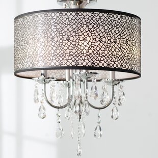 Brownleigh 4-Light Chandelier ByWilla Arlo Interiors