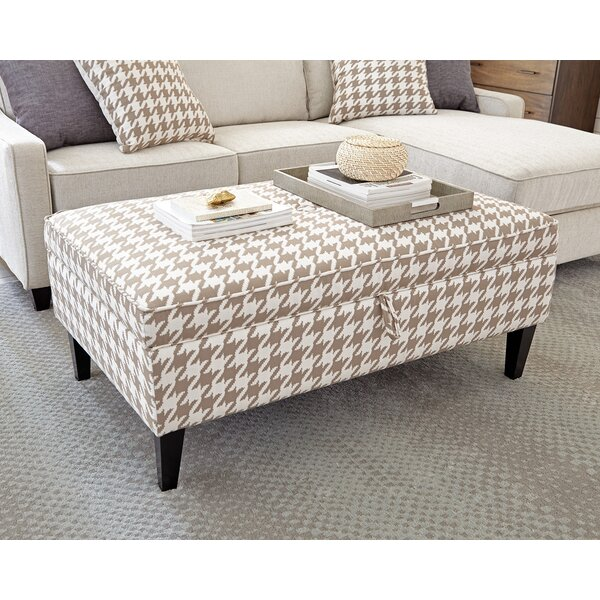 Scott Living Storage Ottoman by Scott Living