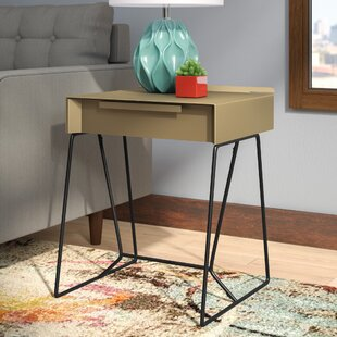 Backman End Table with Storage by Mercury Row