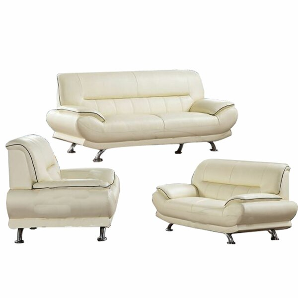 Lack 3 Piece Standard Living Room Set by Orren Ellis