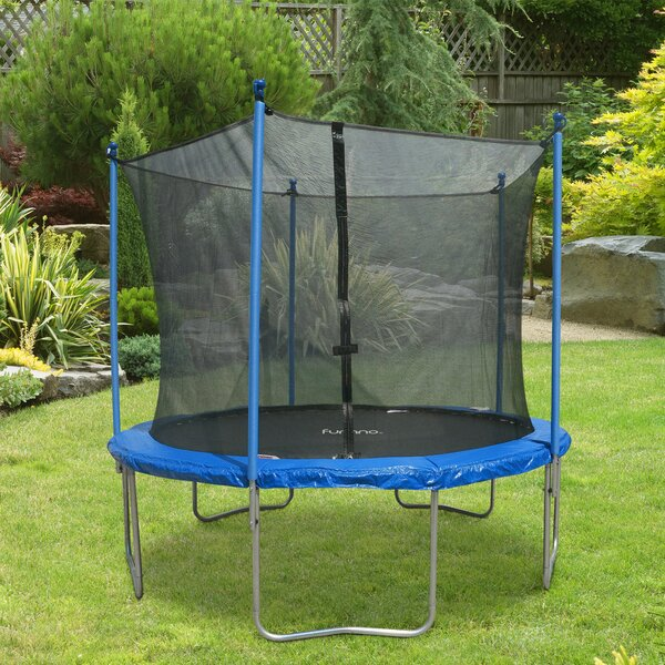 Round Trampoline with Safety Enclosure by Furinno