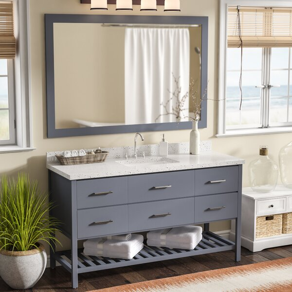Felman 61 Single Bathroom Vanity with Mirror by Longshore Tides