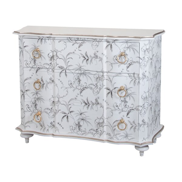 Audric 3 Drawer Accent Chest by Bloomsbury Market