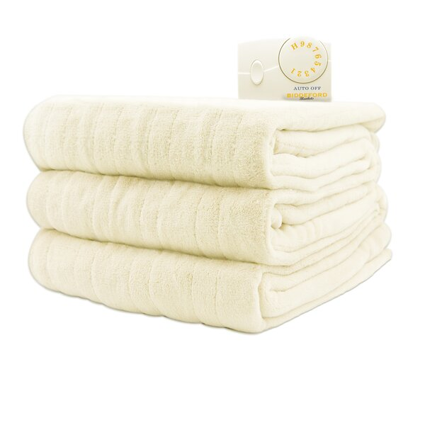 Vidya Comfort Knit Heated Blanket by Beachcrest Home