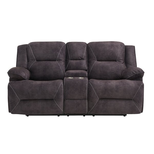 Top Of The Line Keswick Reclining Loveseat by Red Barrel Studio by Red Barrel Studio