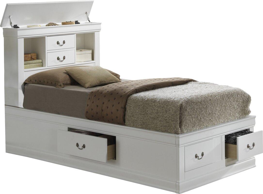 Corbeil Storage Platform Bed