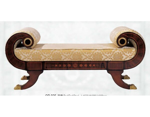 Orpheus Upholstered Bench by Astoria Grand