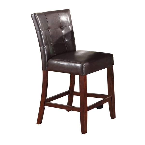 Azuela Genuine Leather Upholstered Dining Chair (Set of 2) by Red Barrel Studio