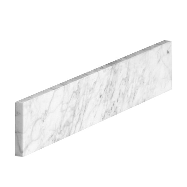 Marble Carrara Sidesplash by Halstead Internationa