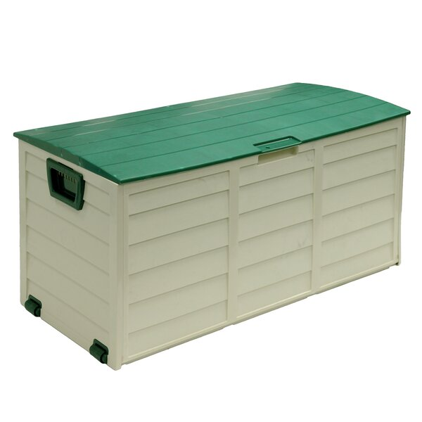 60 Gallon Plastic Deck Box by Starplast Starplast