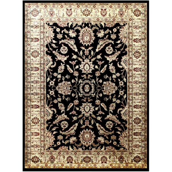 Black Area Rug by Brady Home