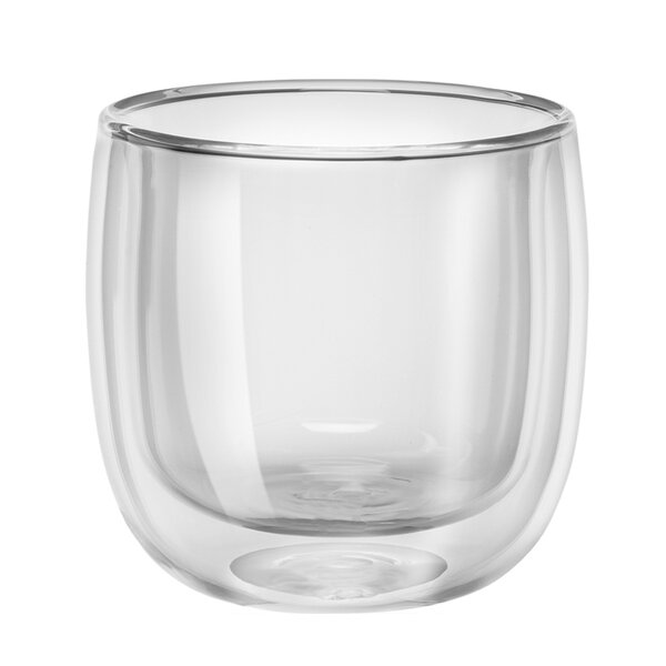Sorrento Double-Wall Glass Tea Cup Set (Set of 2) by Zwilling JA Henckels
