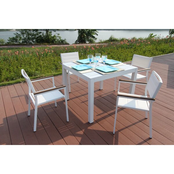 Rizzuto 5 Piece Dining Set By Orren Ellis