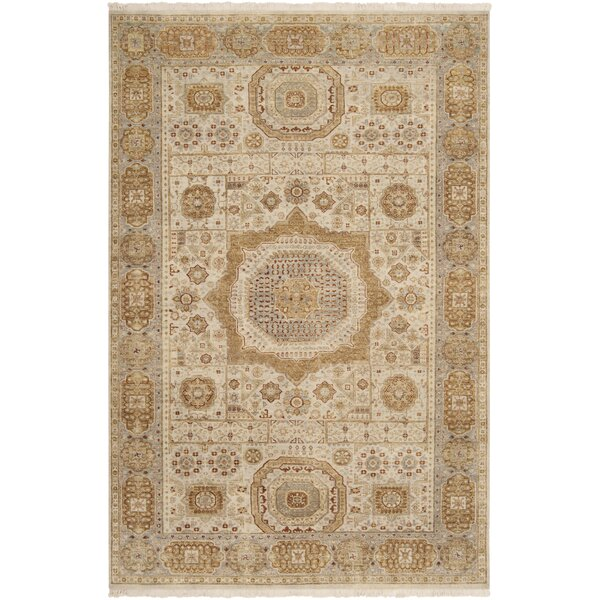 Cady Frappuccino / Ivory Area Rug by Bloomsbury Market