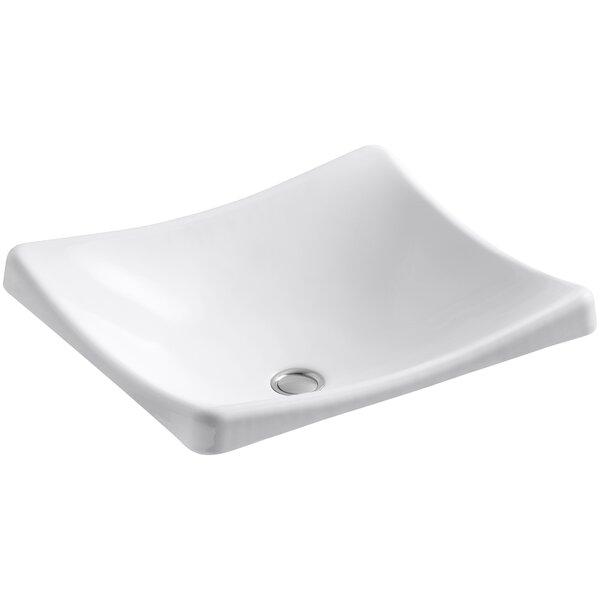 DemiLav Metal Specialty Vessel Bathroom Sink by Kohler