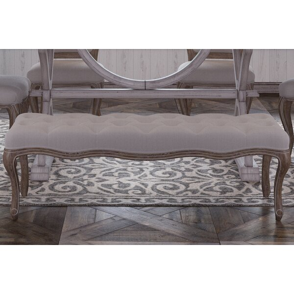 Mui Upholstered Bench by House of Hampton House of Hampton