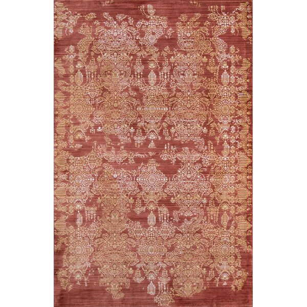 Lawler Brick Area Rug by World Menagerie