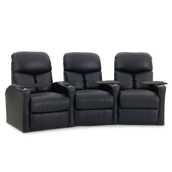 Home Theater Recliner (Row of 3) by Latitude Run