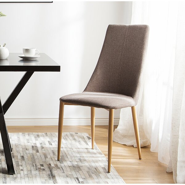 Speaks Upholstered Dining Chair by Brayden Studio