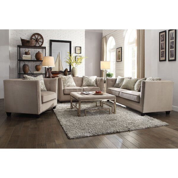 Borasisi 3 Piece Living Room Set by Rosdorf Park