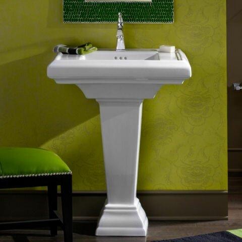 American Standard Town Square 24 Quot Pedestal Bathroom Sink