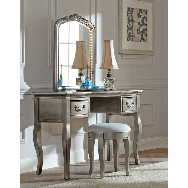 Troutdale Vanity Set with Mirror by Greyleigh