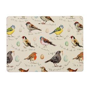 Bird Song Placemat (Set of 4)