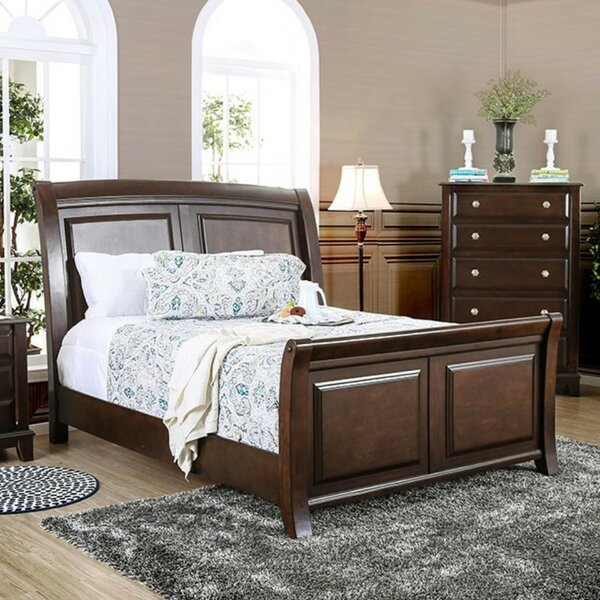 Roberson Sleigh Bed by Alcott Hill