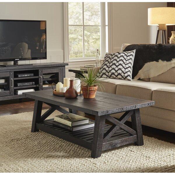 Langsa Solid Wood Coffee Table By Laurel Foundry Modern Farmhouse
