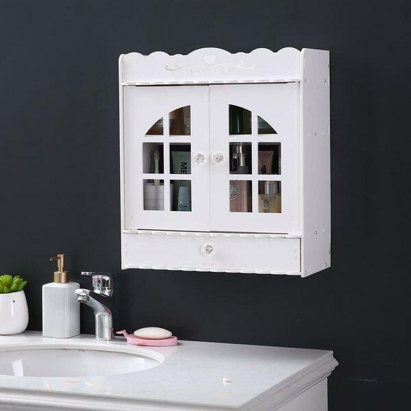 6.89'' W x 17.32'' H x 15.35'' D Wall Mounted Bathroom Cabinet