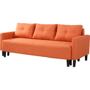 Orange Sleeper Sofas