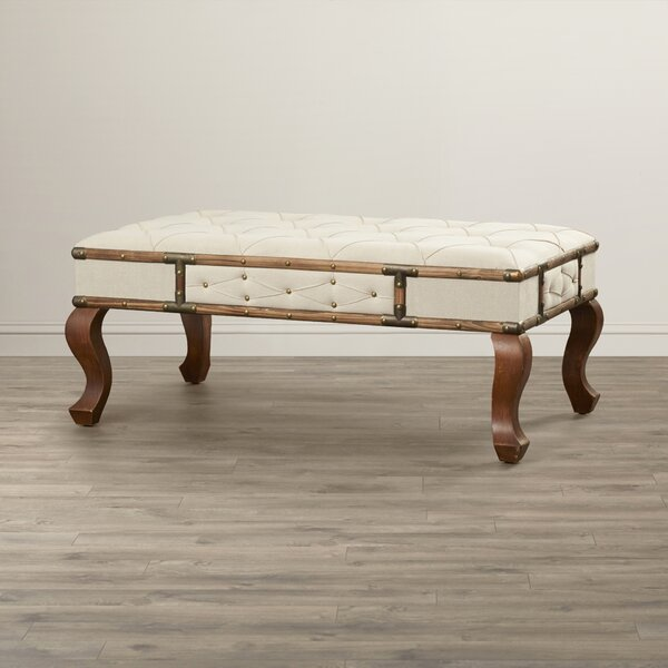 Magen Upholstered Bench by Bayou Breeze