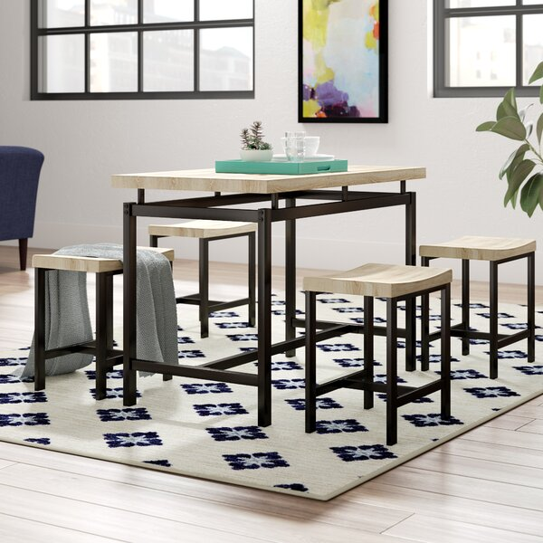 Bryson 5 Piece Dining Set by Wrought Studio