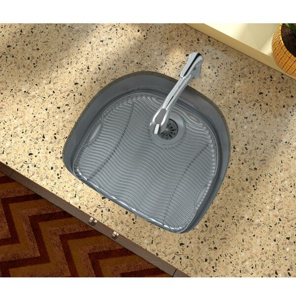 Lustertone 24 L x 21 W Undermount Kitchen Sink with Drain Assembly by Elkay