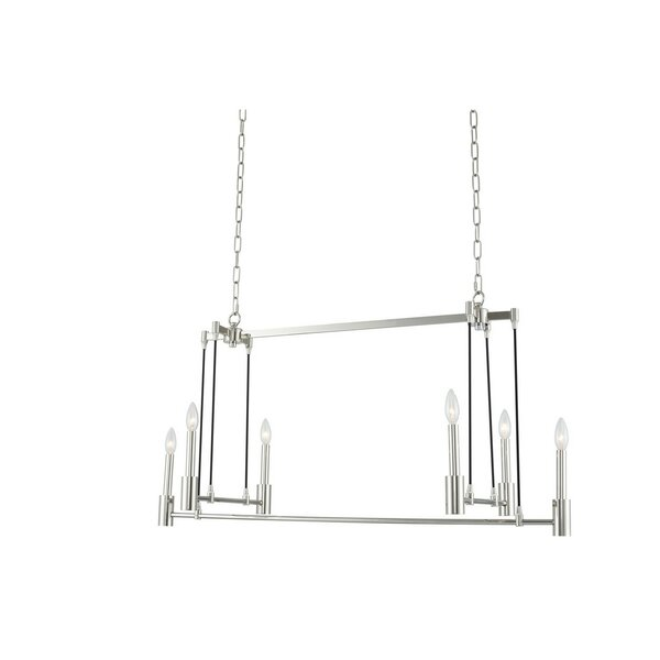 Mcguire Art Deco 6-Light Novelty Chandelier By Breakwater Bay