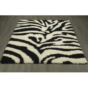 Compare Cozy Black/White Area Rug By sweet home stores