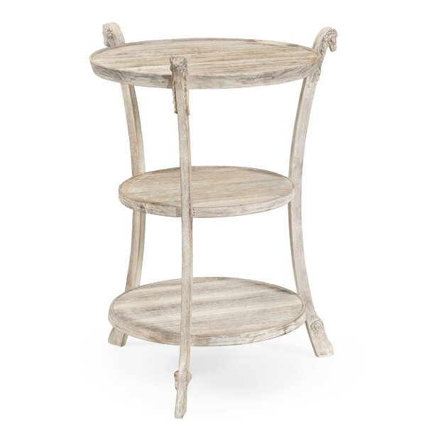 Collana End Table by Jonathan Charles Fine Furniture Jonathan Charles Fine Furniture