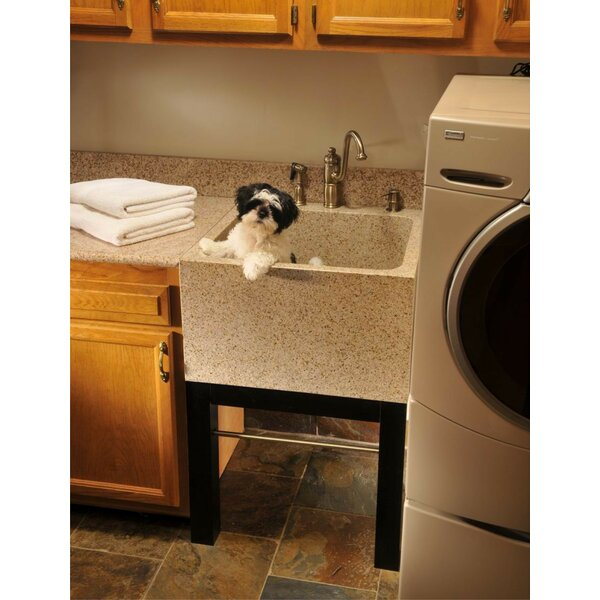 Farm Charm 25 x 24 Free Standing Laundry Sink by Quiescence
