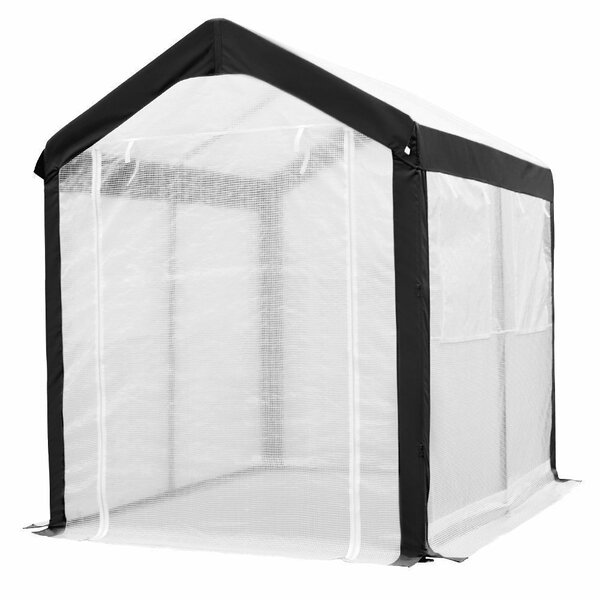 6 Ft. W x 8 Ft. D Greenhouse by Abba Patio