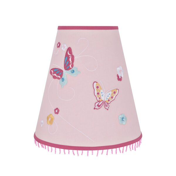 8.25 H Fabric Empire Lamp Shade ( Uno ) in Pink