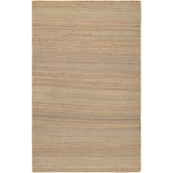 Uhlig Hand Woven Cotton Natural Area Rug by Bungalow Rose