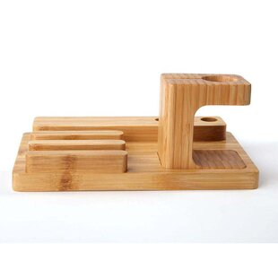 Big Save Bamboo Cradle Charging Station by iPM