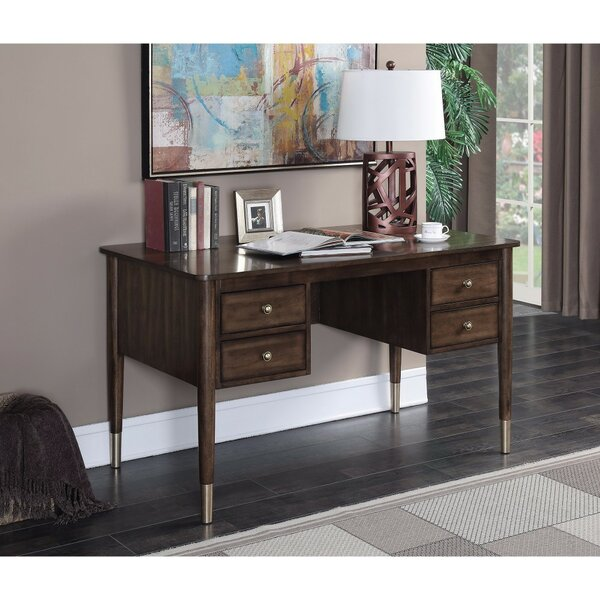 Dinges Sophisticated Executive Desk by Corrigan Studio