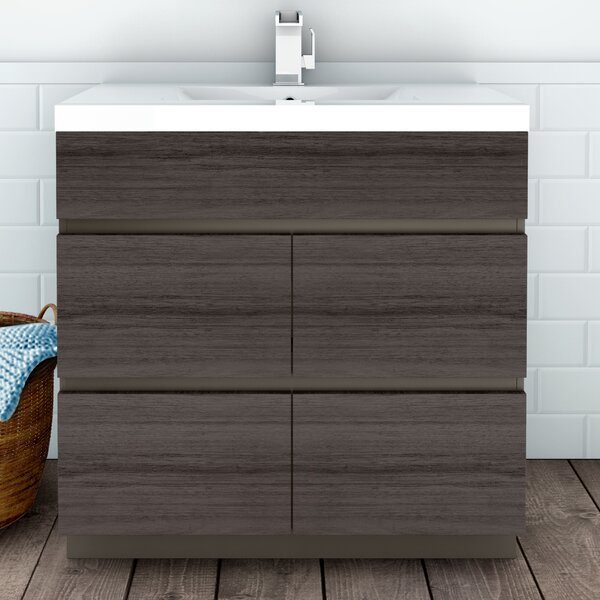 Boardwalk 36 Single Bathroom Vanity Set by Cutler Kitchen & BathBoardwalk 36 Single Bathroom Vanity Set by Cutler Kitchen & Bath