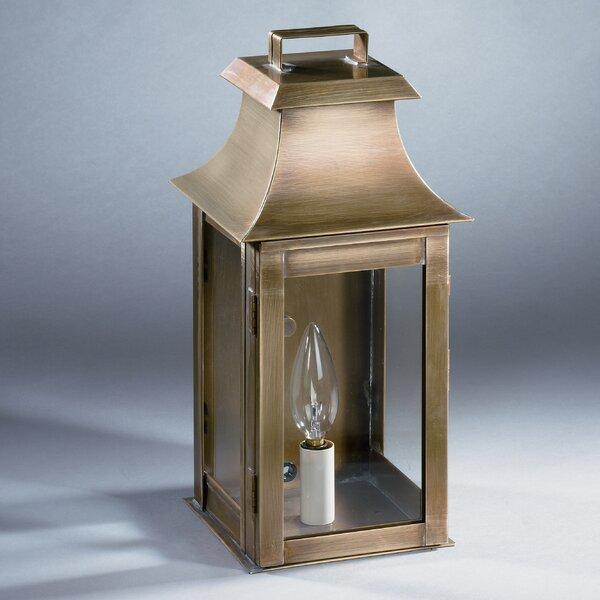 Concord 1-Light Outdoor Flush Mount by Northeast Lantern
