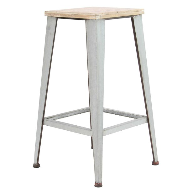 Brandunn Industrial Square 29 Bar Stool by 17 Stories