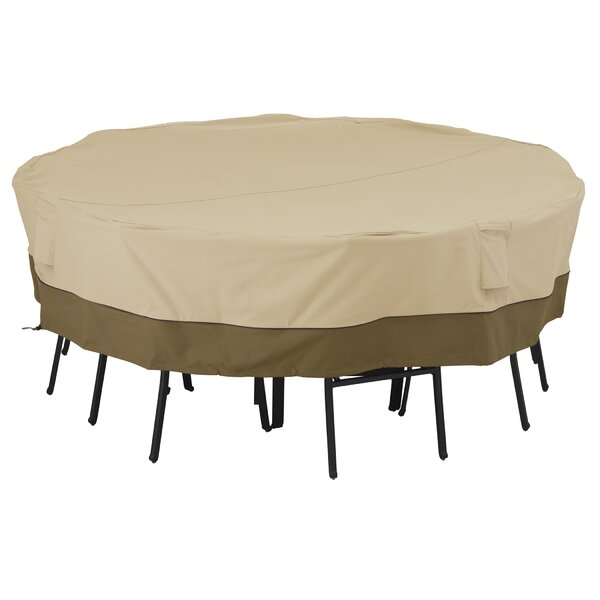 Mckinnis Water Resistant Patio Dining Set Cover by Red Barrel Studio